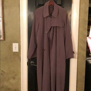 Gallery muted green trench coat 16